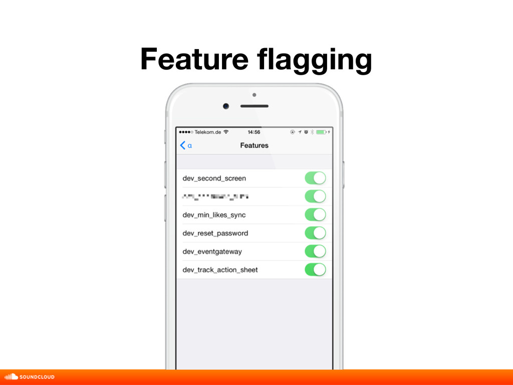 Feature flagging