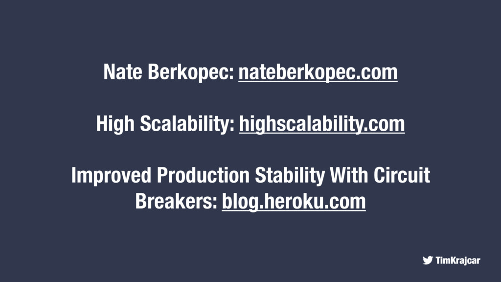 TimKrajcar Nate Berkopec: nateberkopec.com High...