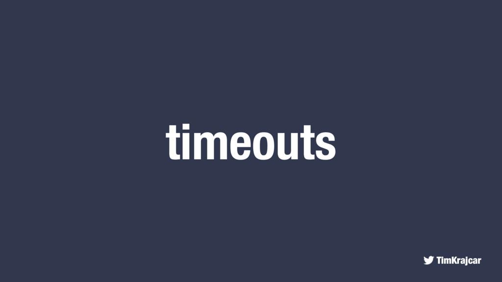 TimKrajcar timeouts