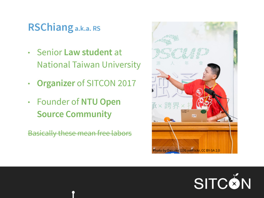 • Senior Law student at