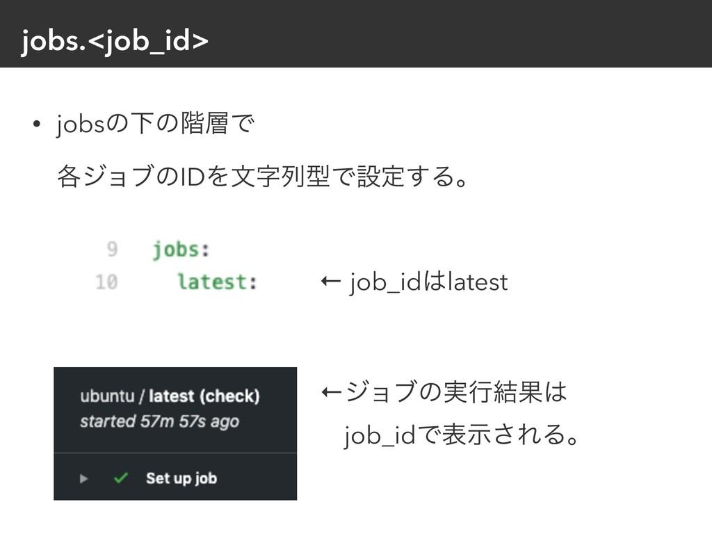 jobs.<job_id> • jobsͷԼͷ֊Ͱɹɹɹɹɹɹɹɹɹɹɹɹɹɹɹɹ ֤δϣϒ...