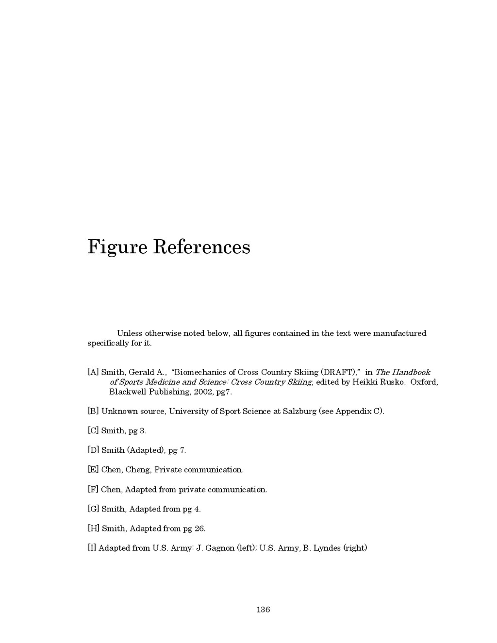 136 Figure References Unless otherwise noted be...