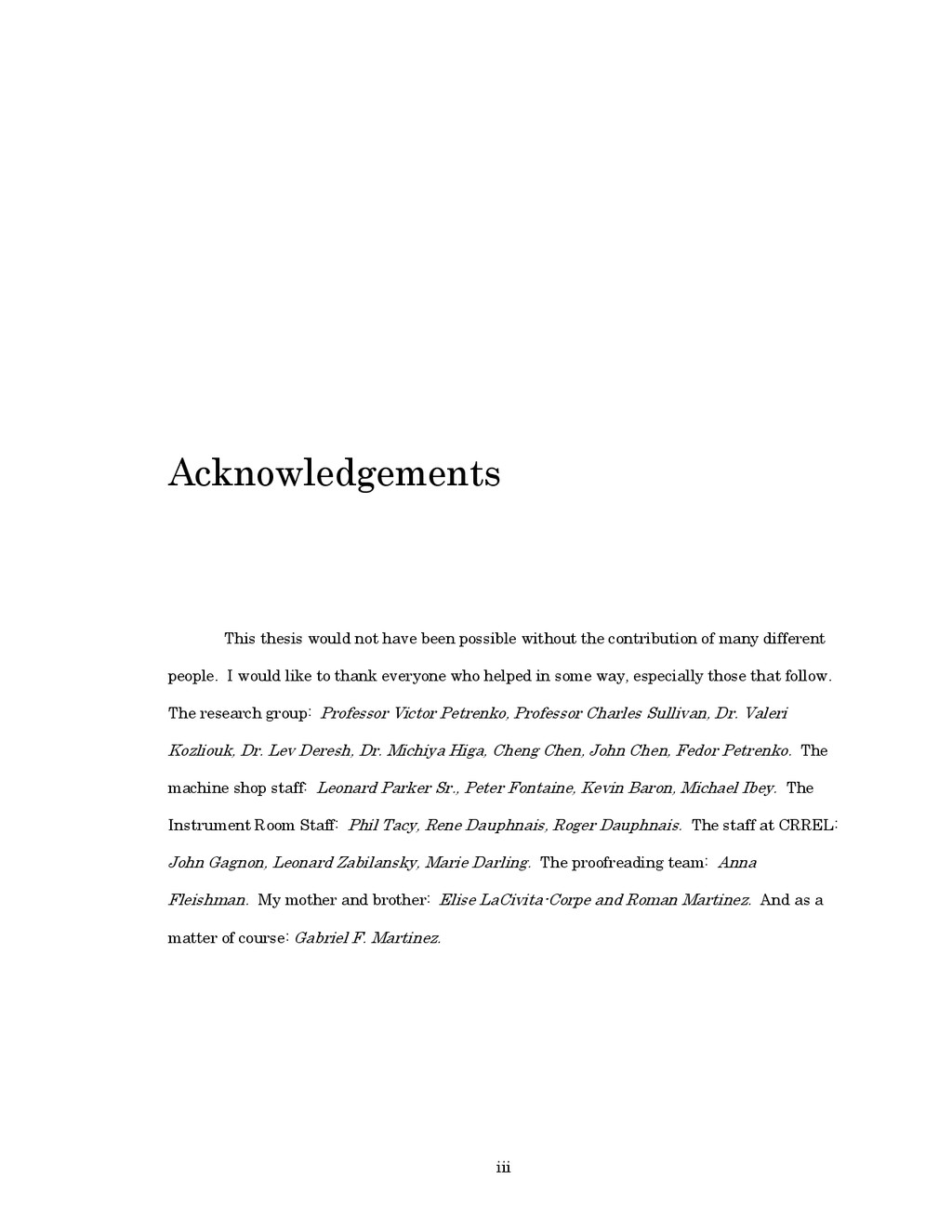 iii Acknowledgements This thesis would not have...