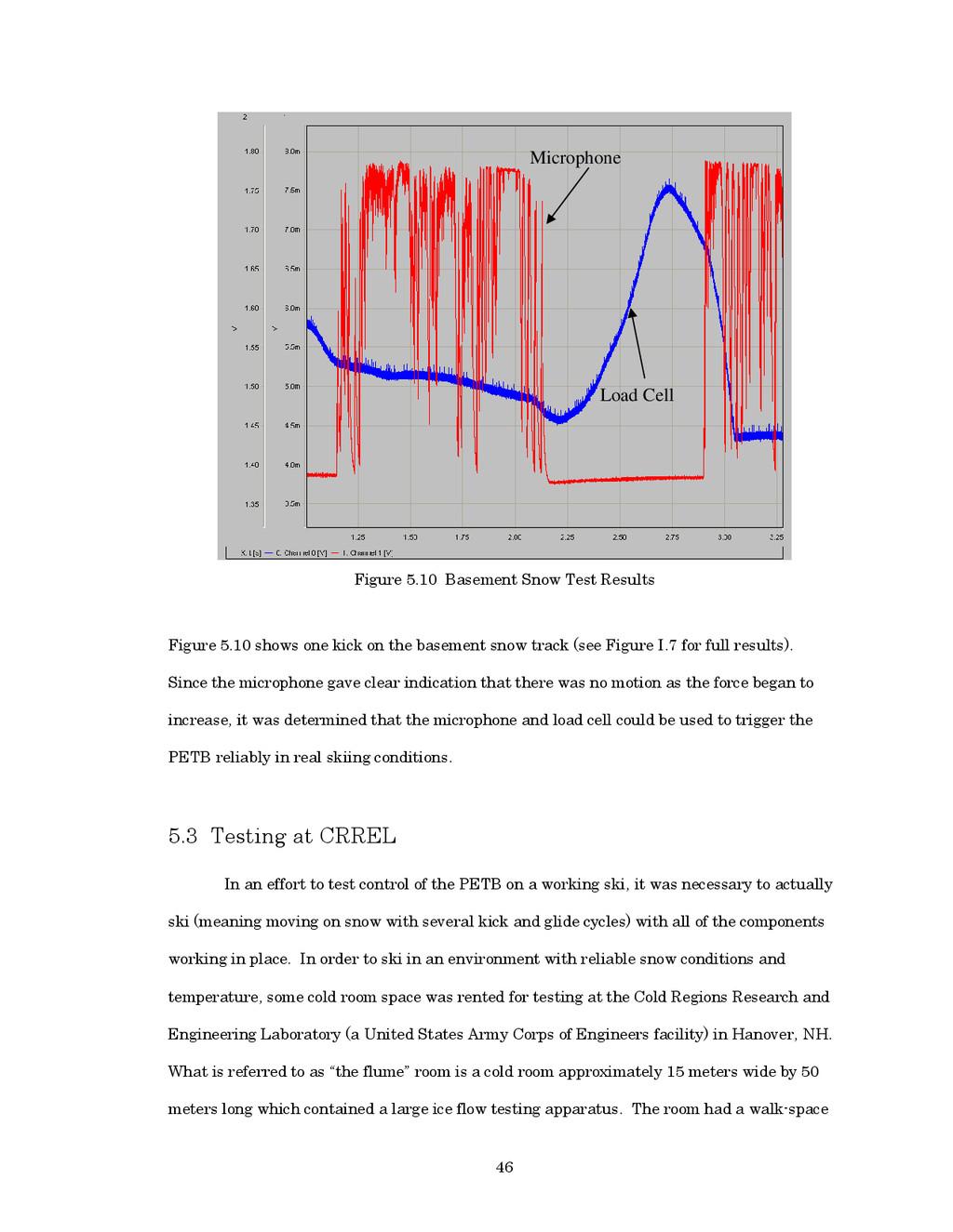 46 Figure 5.10 Basement Snow Test Results Figur...