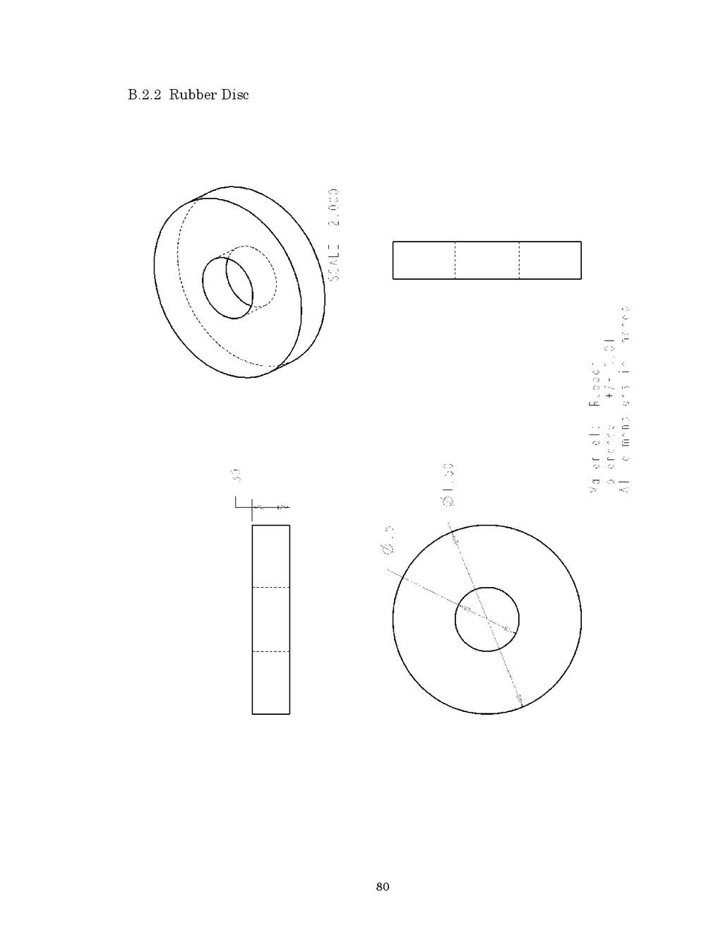 80 B.2.2 Rubber Disc