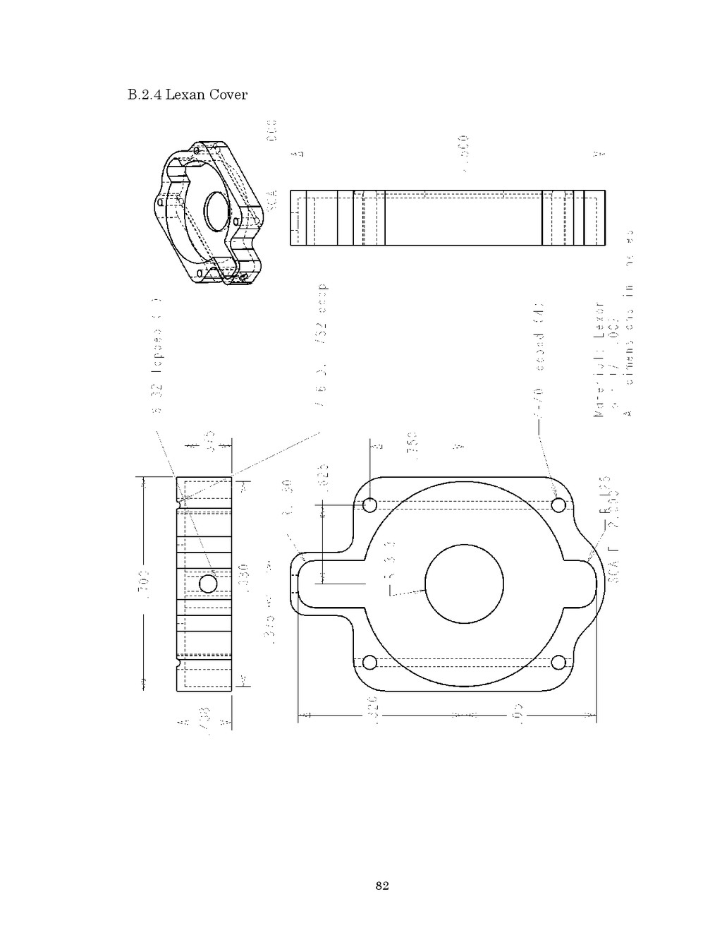 82 B.2.4 Lexan Cover