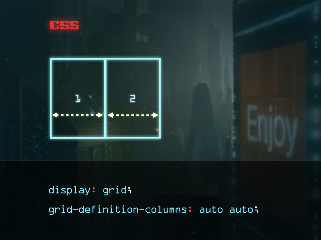 css grid-definition-columns: auto auto; 1 2 dis...