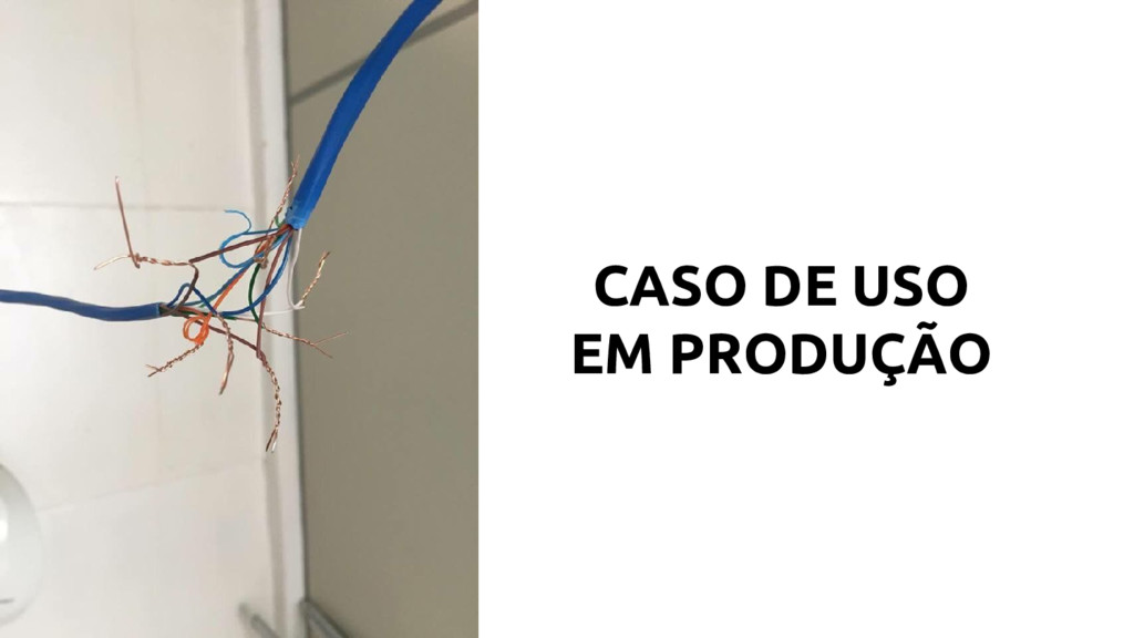CASO DE USO EM PRODUÇÃO