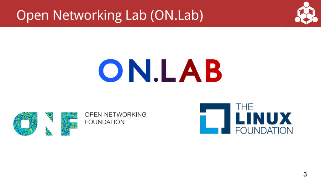 3 Open Networking Lab (ON.Lab)