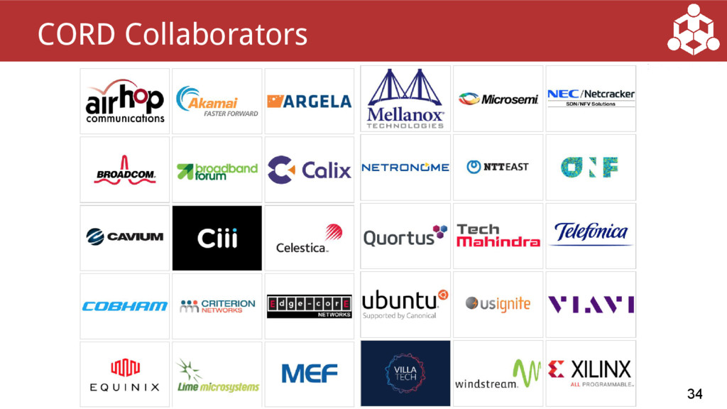 34 CORD Collaborators