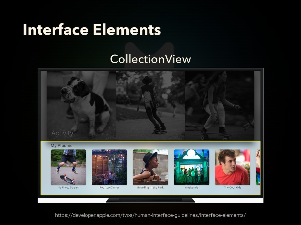 CollectionView Interface Elements IUUQTEFWFM...
