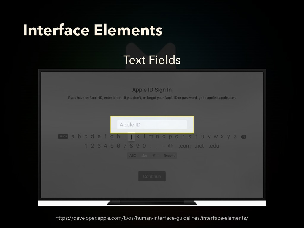 Text Fields Interface Elements IUUQTEFWFMPQF...