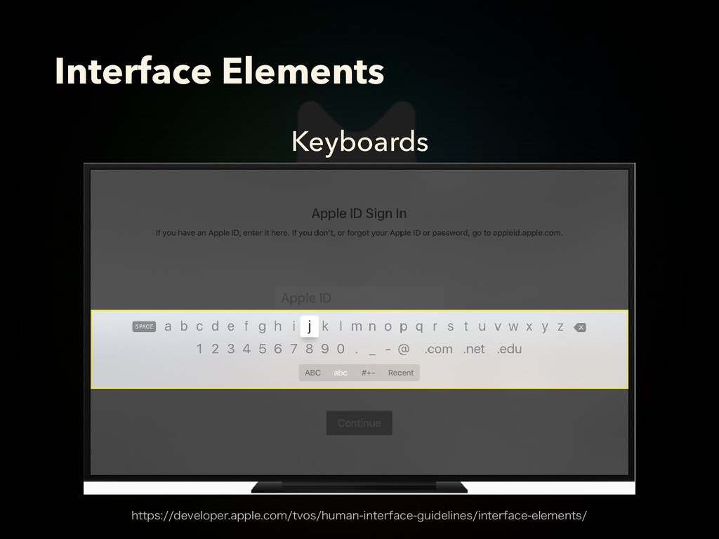 Keyboards Interface Elements IUUQTEFWFMPQFS...