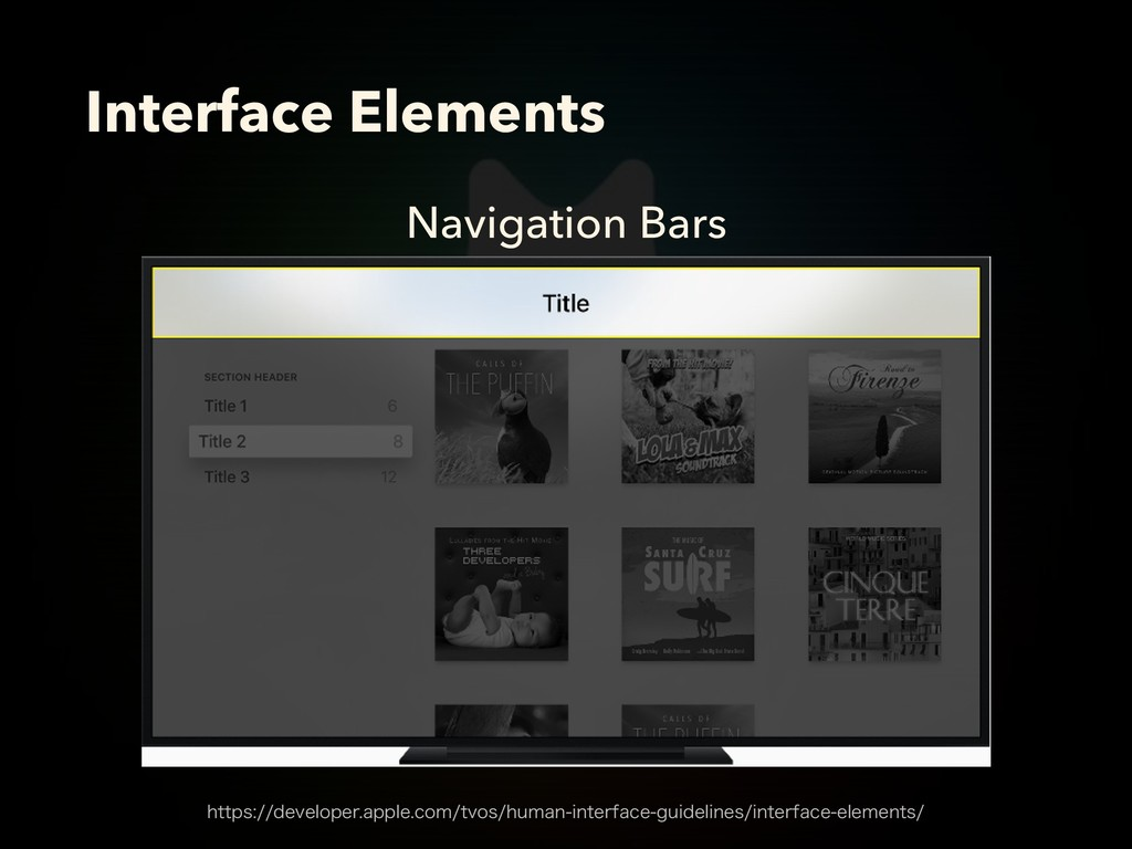 Navigation Bars Interface Elements IUUQTEFWF...
