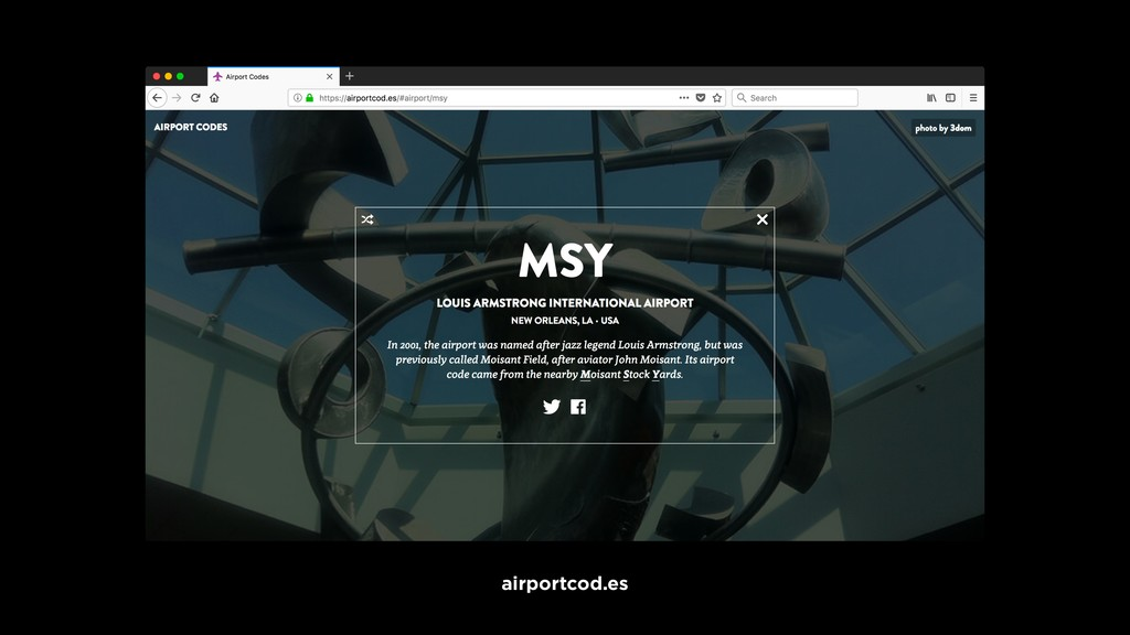 airportcod.es