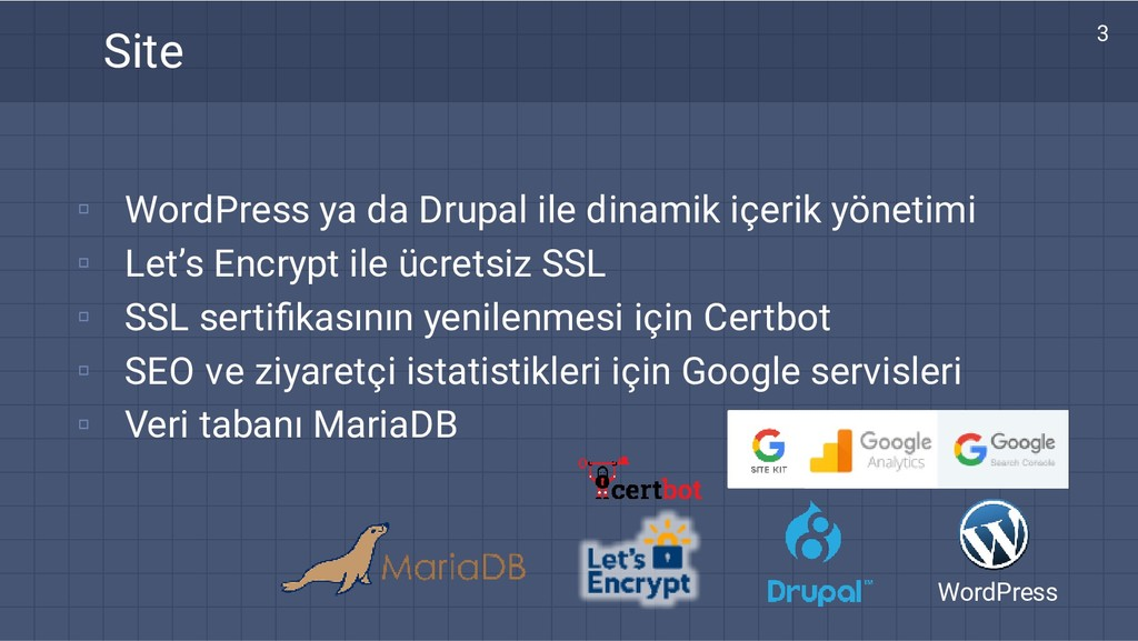 ▫ ▫ ▫ ▫ ▫ WordPress ya da Drupal ile dinamik iç...