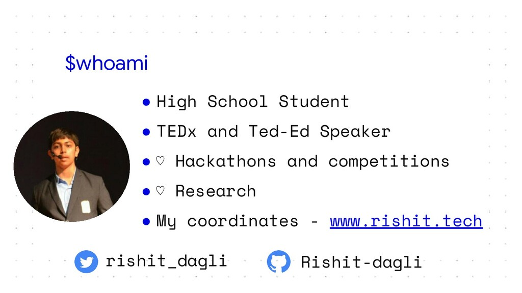 ● High School Student ● TEDx and Ted-Ed Speaker...