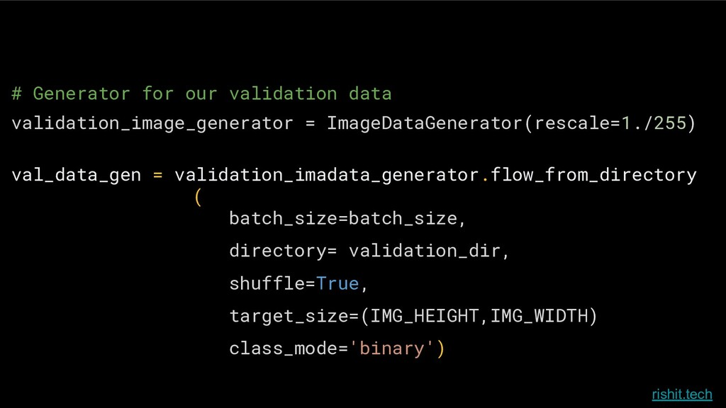 rishit.tech # Generator for our validation data...