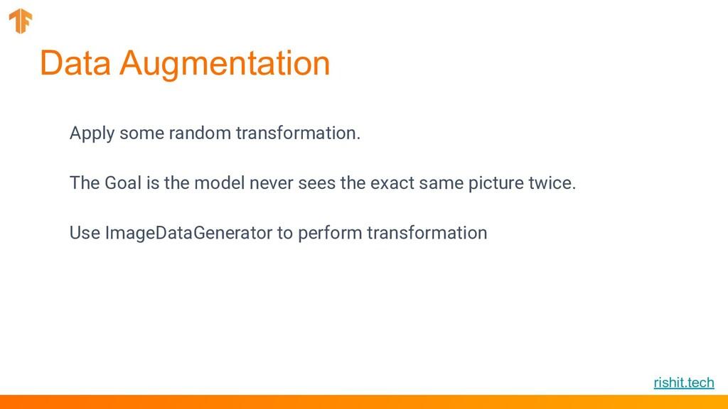 rishit.tech Data Augmentation Apply some random...