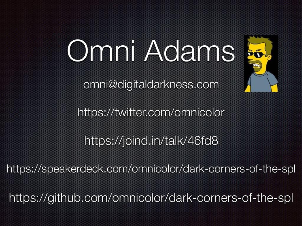 https://speakerdeck.com/omnicolor/dark-corners-...