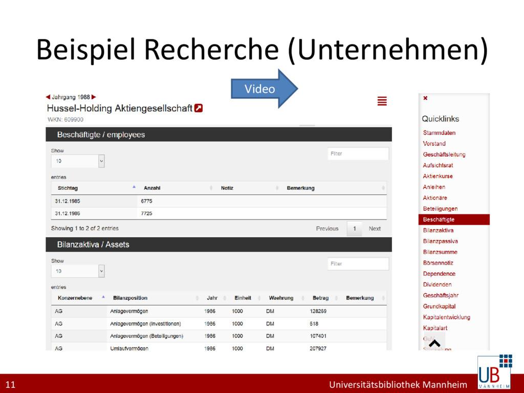 11 Universitätsbibliothek Mannheim Beispiel Rec...