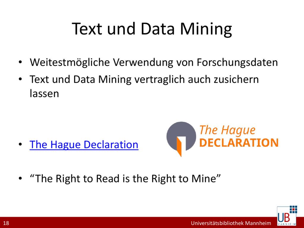18 Universitätsbibliothek Mannheim Text und Dat...