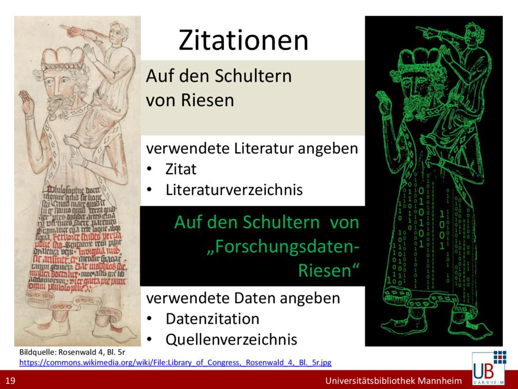 19 Universitätsbibliothek Mannheim Auf den Schu...