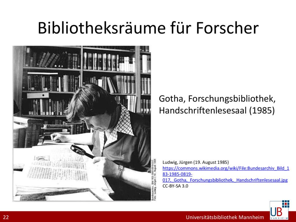 22 Universitätsbibliothek Mannheim Bibliotheksr...