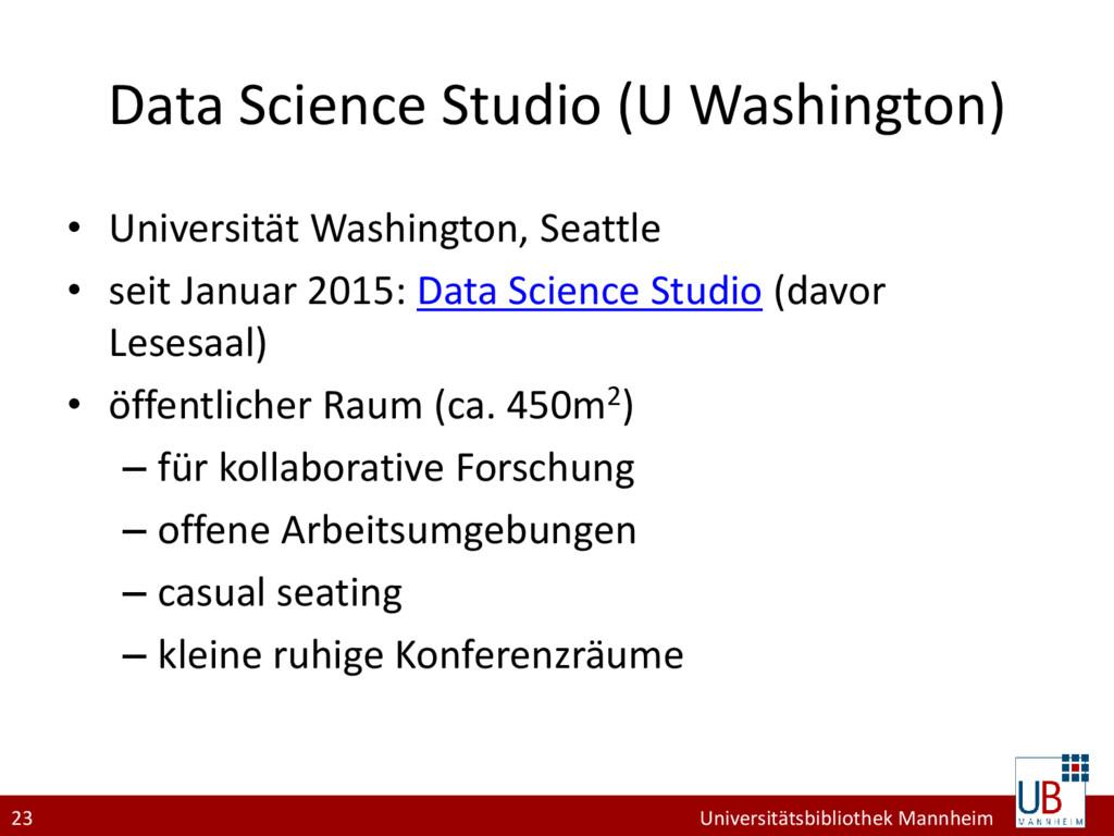 23 Universitätsbibliothek Mannheim Data Science...