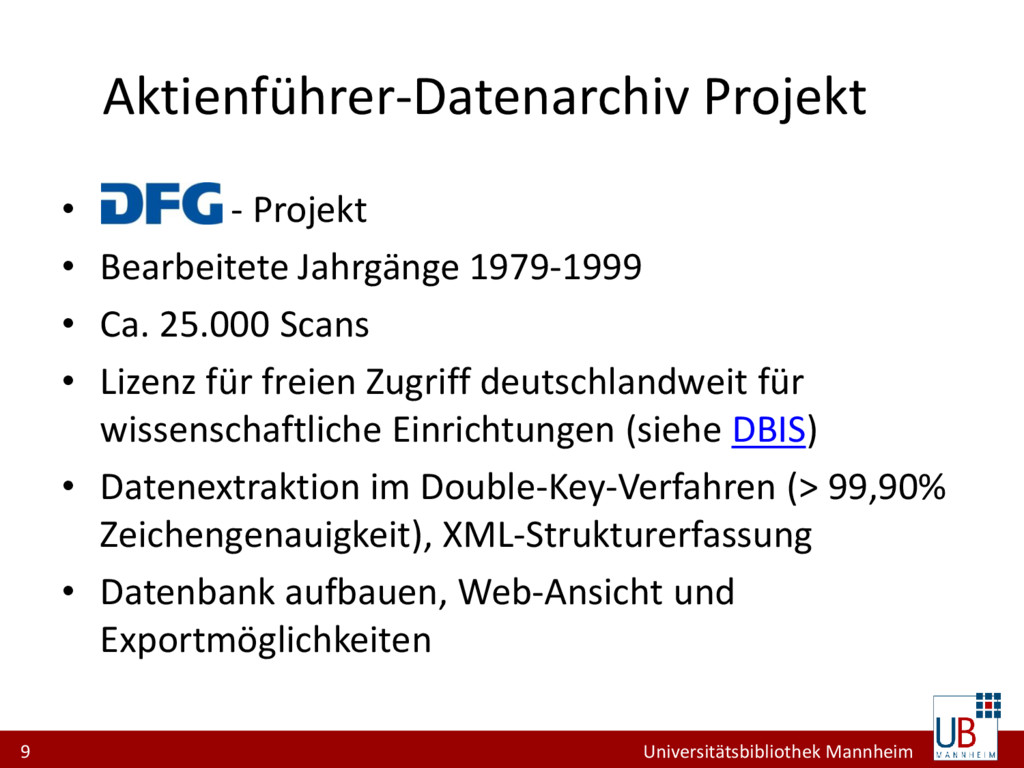 9 Universitätsbibliothek Mannheim Aktienführer-...