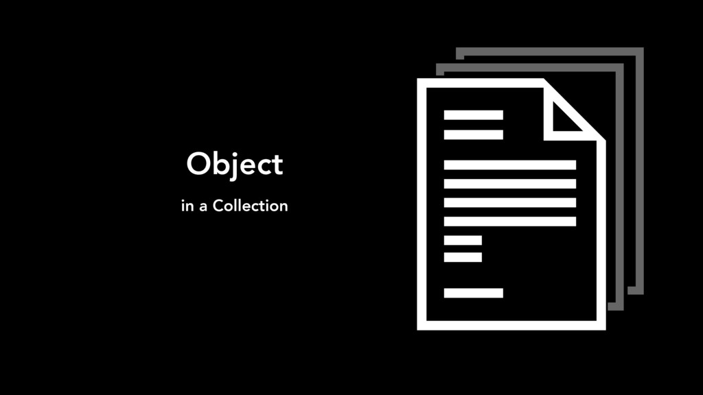 Object in a Collection