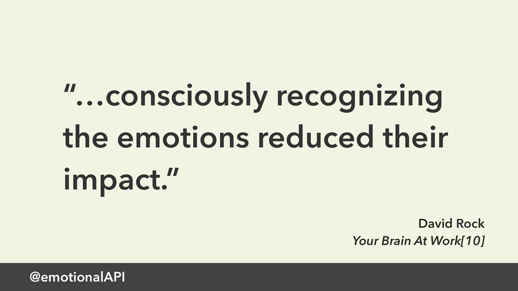 "@emotionalAPI ""…consciously recognizing the emo..."