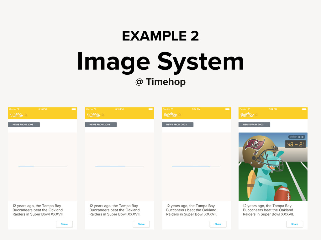 EXAMPLE 2 Image System @ Timehop