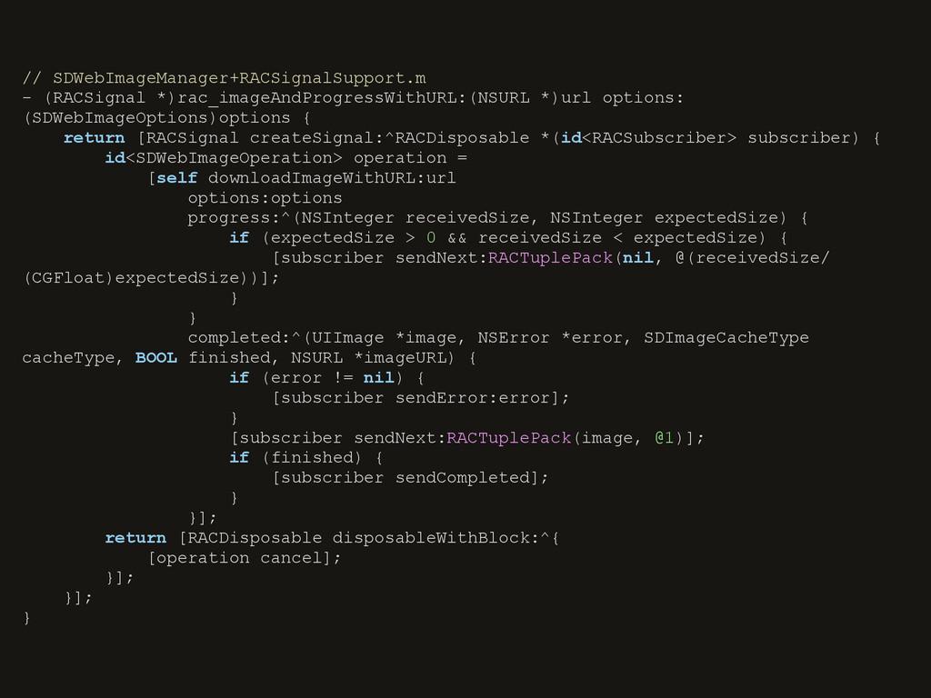 // SDWebImageManager+RACSignalSupport.m - (RACS...
