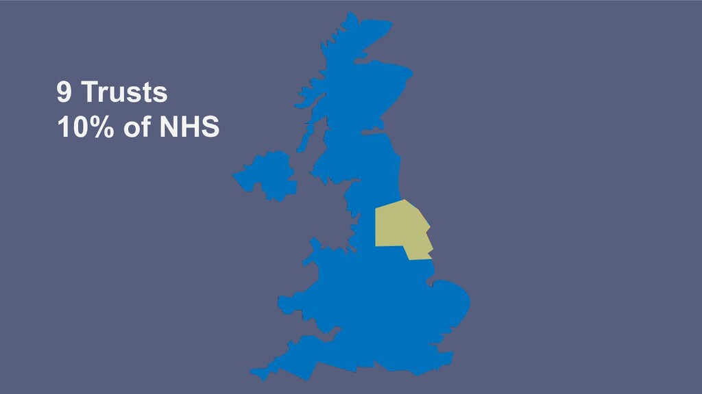 9 Trusts 10% of NHS