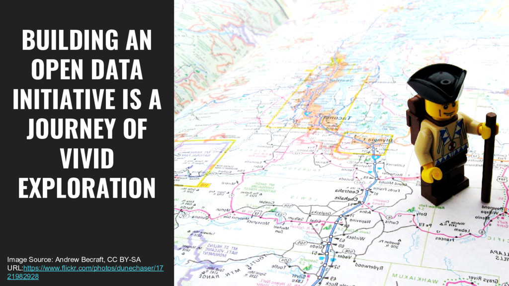 BUILDING AN OPEN DATA INITIATIVE IS A JOURNEY O...