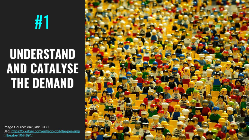 #1 UNDERSTAND AND CATALYSE THE DEMAND Image Sou...