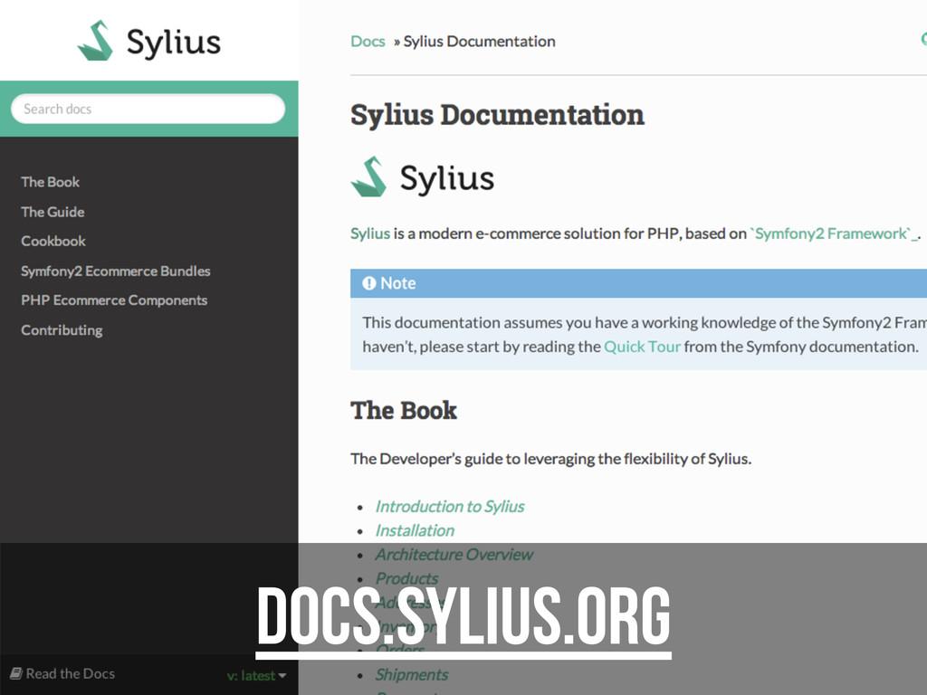 DOCS.sylius.org