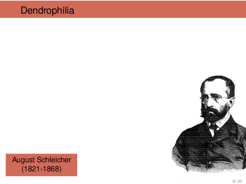 Dendrophilia August Schleicher (1821-1868) 8 / ...