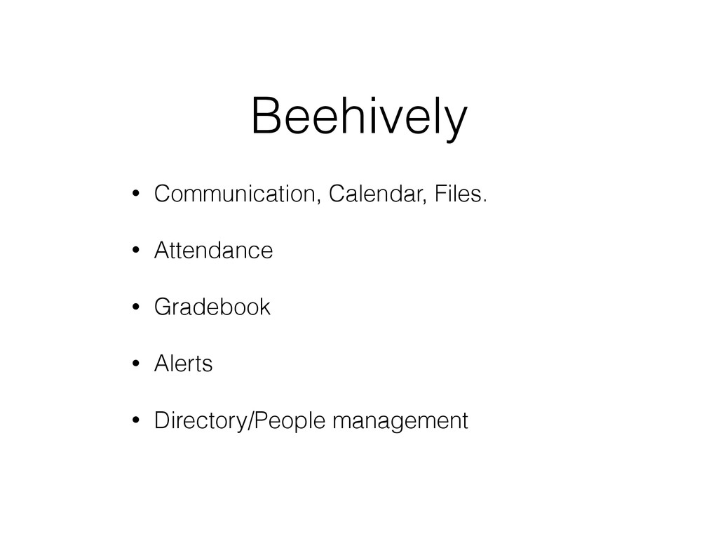 Beehively • Communication, Calendar, Files. • A...