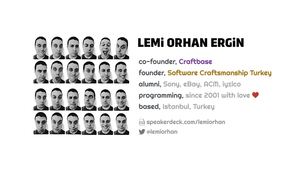 LEMi ORHAN ERGiN co-founder, Craftbase founder,...