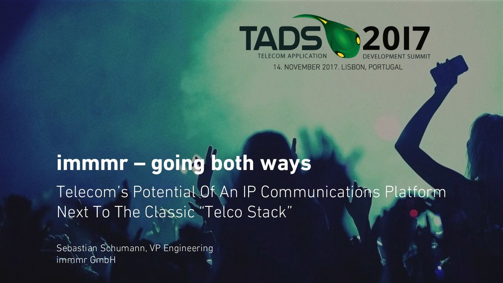 immmr – going both ways Telecom's Potential Of ...