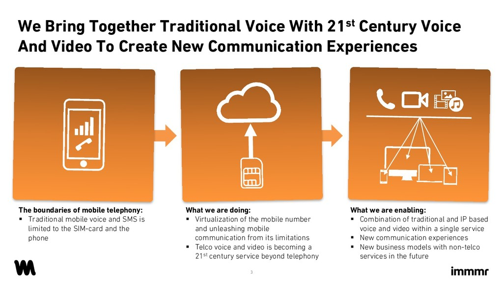 We Bring Together Traditional Voice With 21st C...