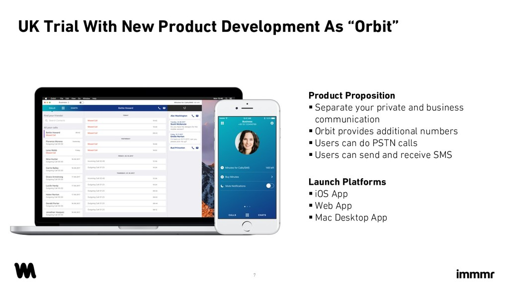"""UK Trial With New Product Development As """"Orbit..."""