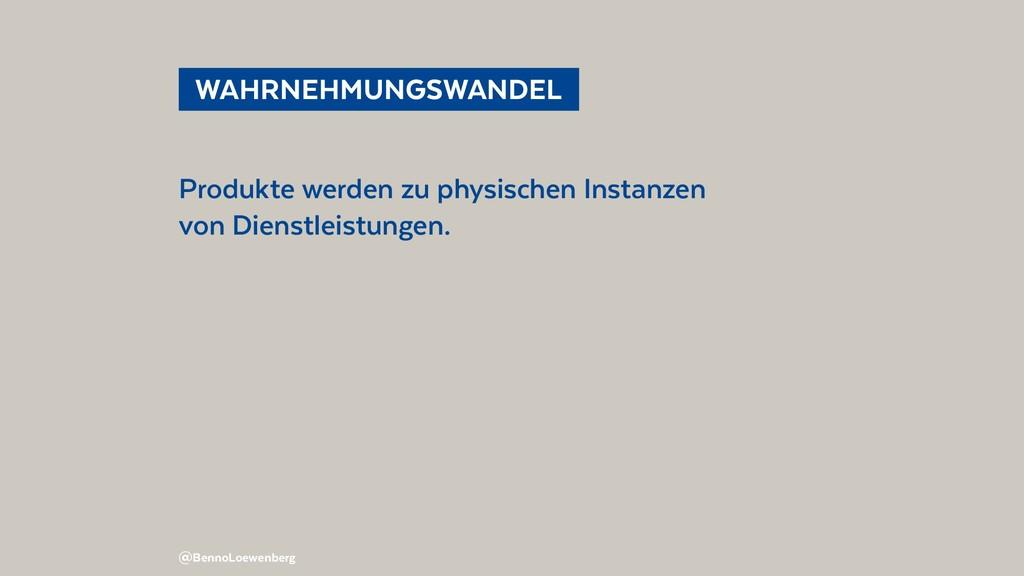 @BennoLoewenberg WAHRNEHMUNGSWANDEL Produkte ...