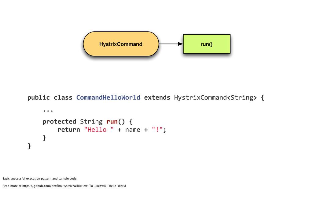 HystrixCommand run() public!class!CommandHelloW...