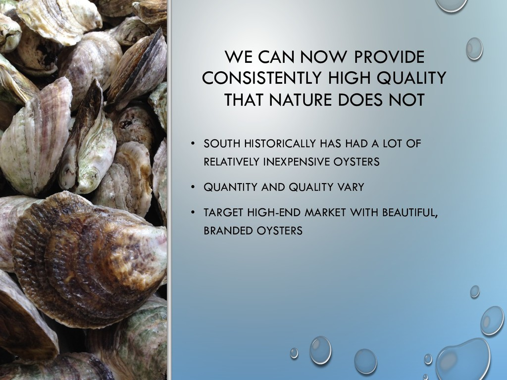 WE CAN NOW PROVIDE CONSISTENTLY HIGH QUALITY TH...