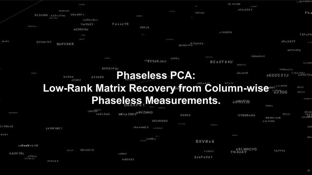 Phaseless PCA: Low-Rank Matrix Recovery from Co...