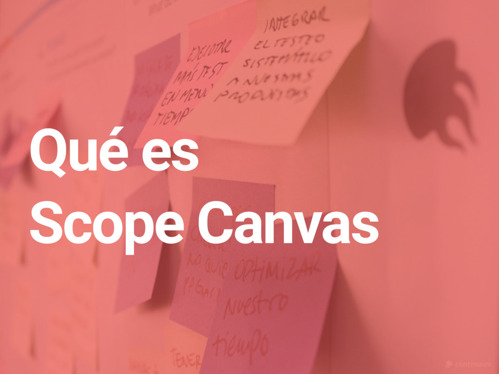 Qué es Scope Canvas