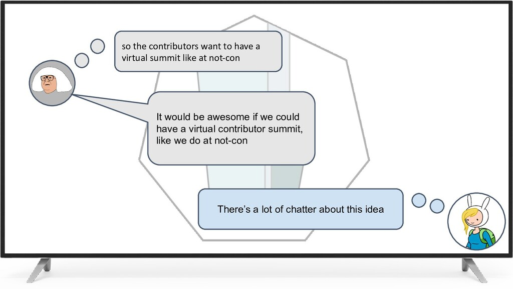 so the contributors want to have a virtual summ...